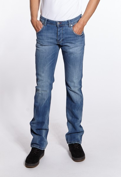 e244218fc192aa Tall fashion Jeans  Mustang Jeans Michigan Straight in mid blue used ...